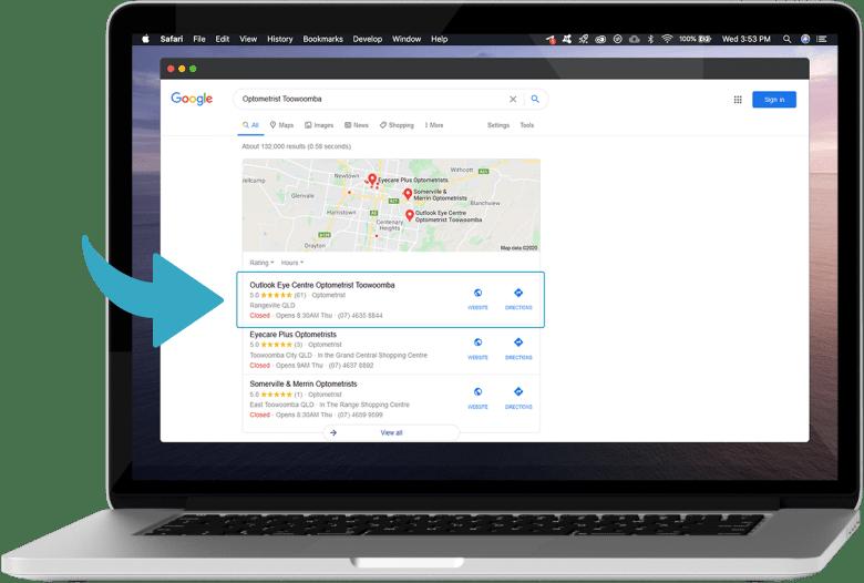 google-map-listings